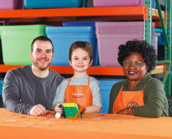 Home Depot DIY Workshops for Kids - Putting Green