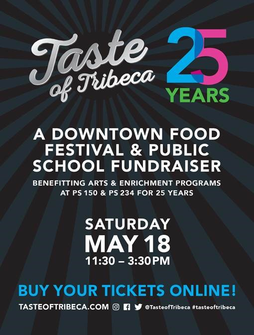 Taste of Tribeca Celebrates 25 Years on May 18th! Plus a Ticket Giveaway!