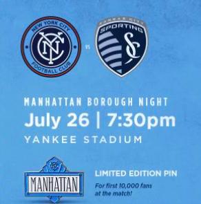 New York Football Club Hosts Community Night - Soccer at Yankees Stadium!
