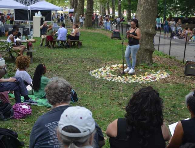 The New York City Poetry Festival on Governors Island