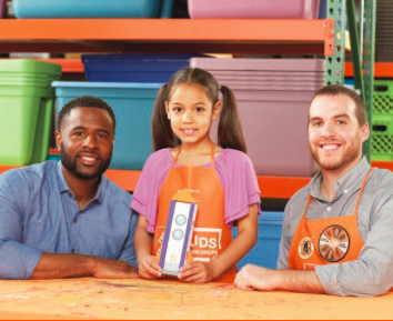 Home Depot Kids Workshop - DIY Pencil Box (FREE)
