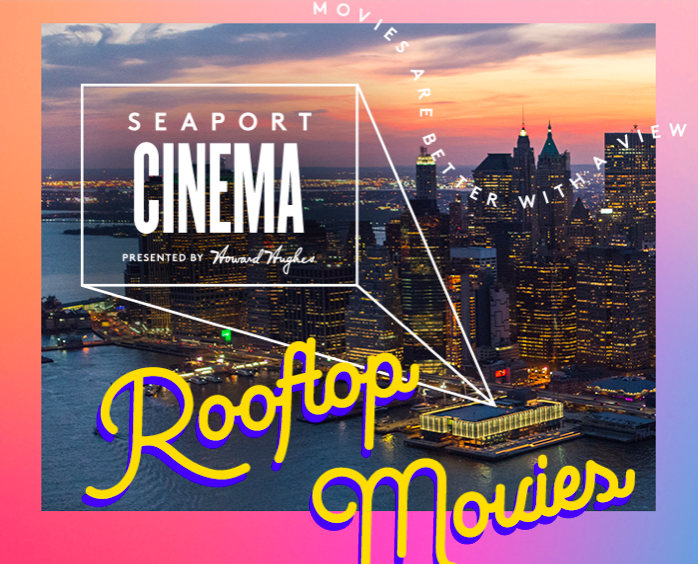 Seaport Cinema Presents: 50 First Dates - Outdoor Rooftop Film Series (FREE)