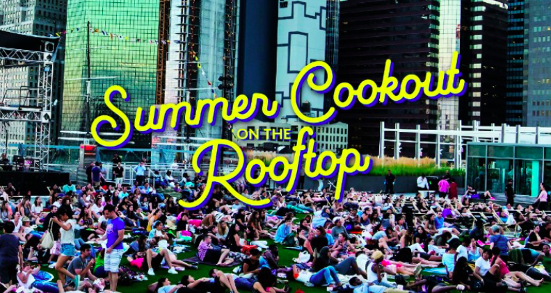 Pier 17 Summer Cookout on the Rooftop