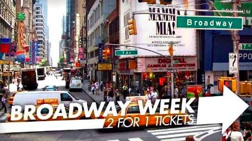 NYC Broadway Week℠ - September 3 - 16, 2019