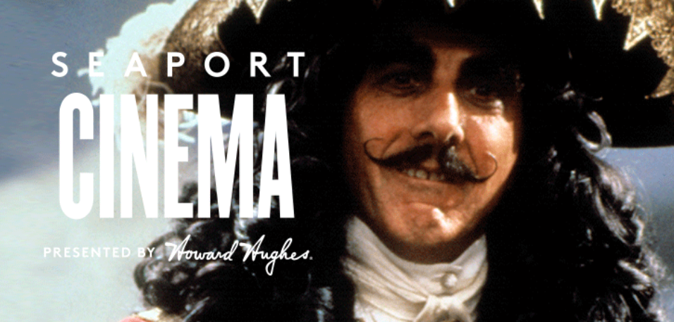 Seaport Cinema Presents: Hook (FREE and FINAL Outdoor Movie Night at Pier 17)
