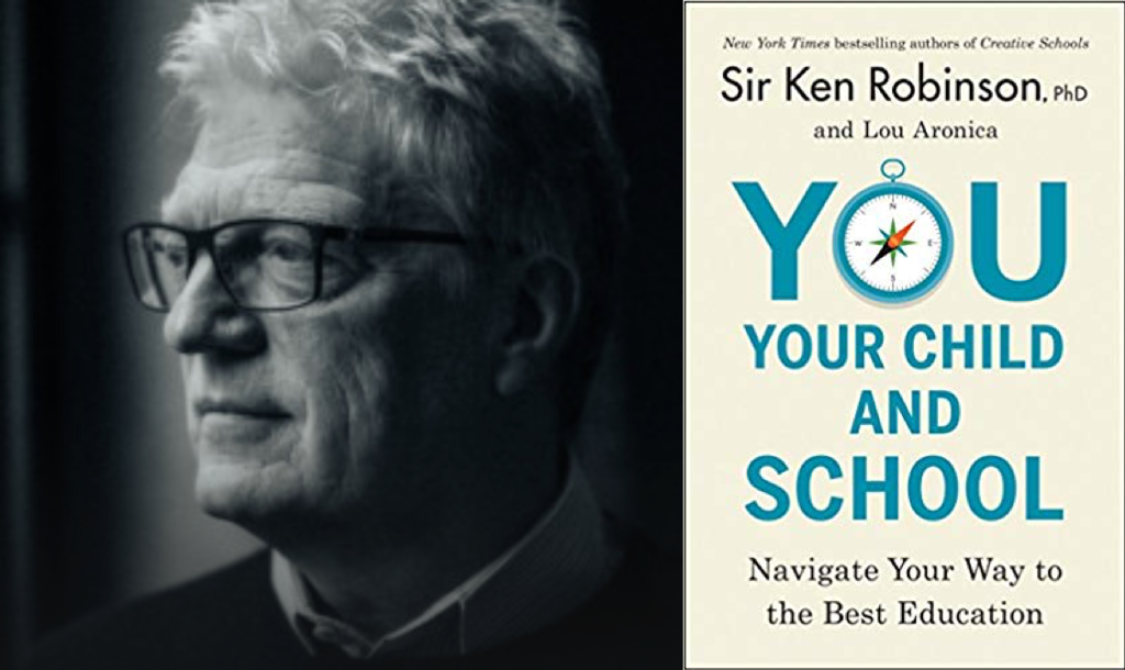 FiDi Families Invite: Sir Ken Robinson, Ph.D., Author of: You, Your Child and School: Navigating Your Way to the Best Education