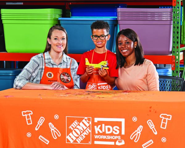 Home Depot DIY Kids Workshop (FREE) - Build a Fire Plane!