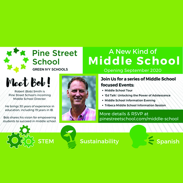 Meet the Director of downtown's new middle school Oct 22-24