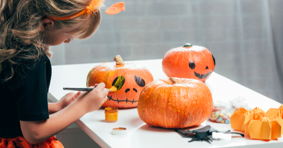 Pumpkin Painting and Decorating Class at Le District