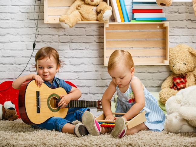 Babies N' Beats Toddler Music Class