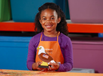Home Depot DIY Kids Workshop (FREE)