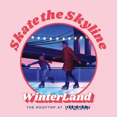 Winterland Rink is back & bigger! Skate the Skyline with special Neighborhood pricing