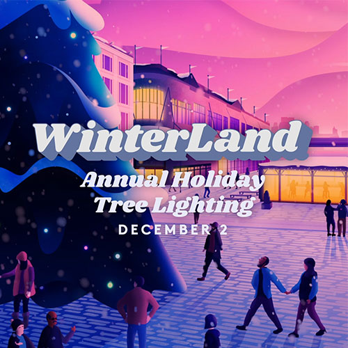 Kick Off the Holiday Season at the Seaport District's Annual Holiday Tree Lighting