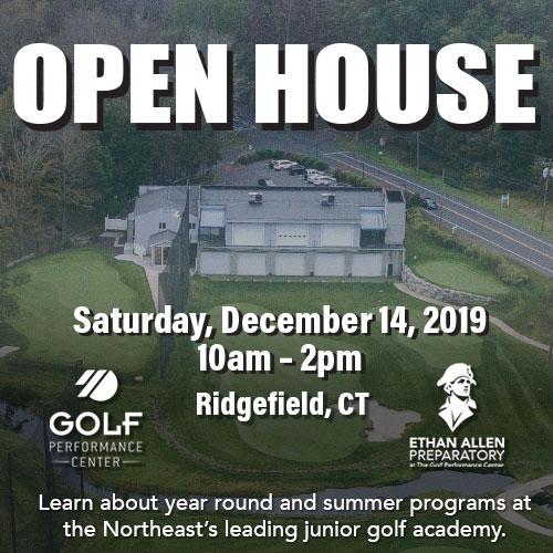 Golf Performance Center Open House - December 14th!