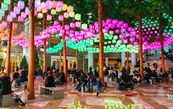 Luminaries at Brookfield Place through January 3rd!