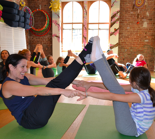 Karma Kids Yoga at the Seaport on Saturday! FREE Class with Seaport Fit