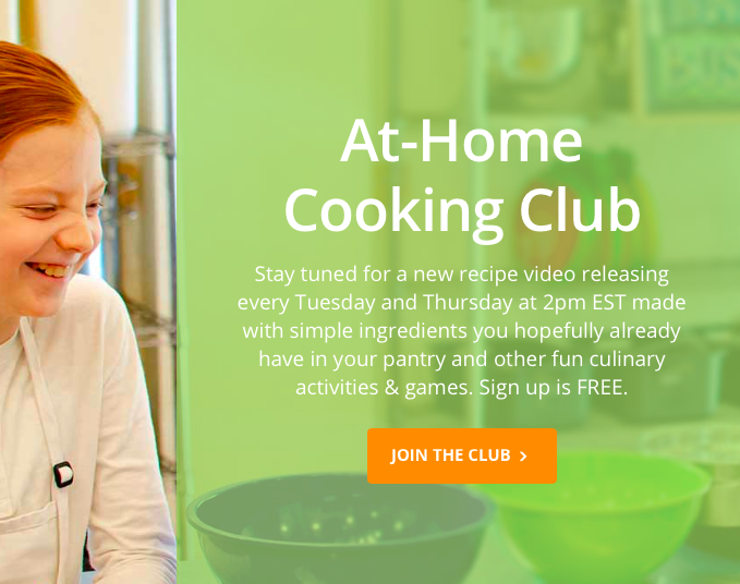 Taste Buds Kitchen Launches a At-Home Cooking Club in the virtual world - FREE