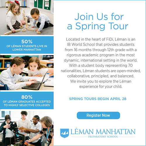 Join Léman Manhattan for a virtual tour - launching April 28