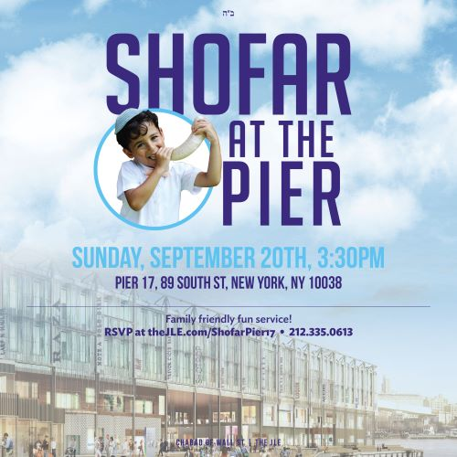 Shofar at the Pier