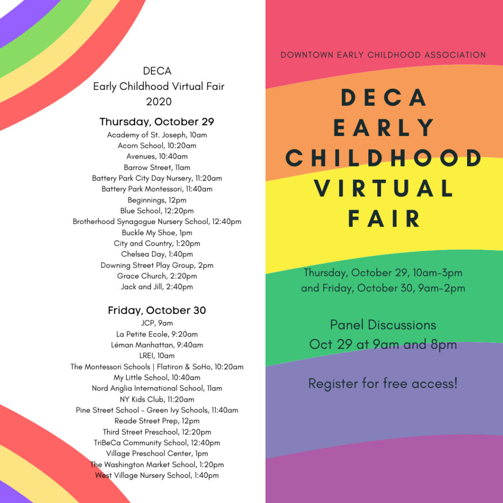DECA Early Childhood Virtual Fair - FREE