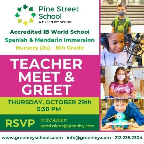 Join us for a Virtual Teacher Meet & Greet