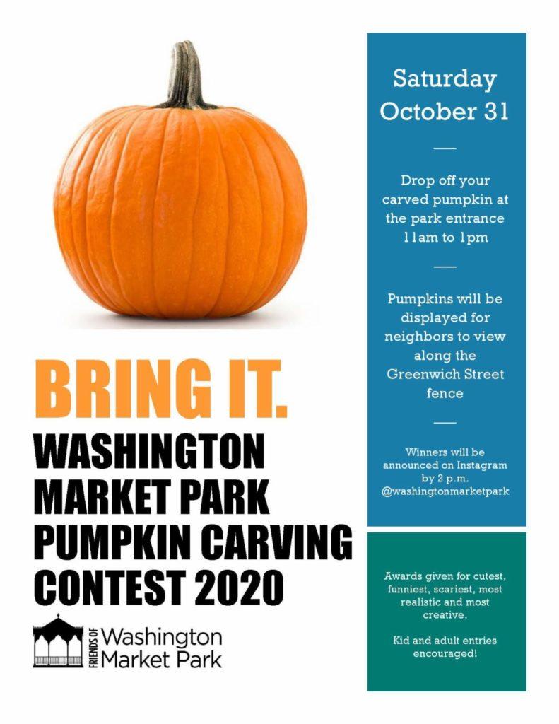 Washington Market Park Pumpkin Carving Contest