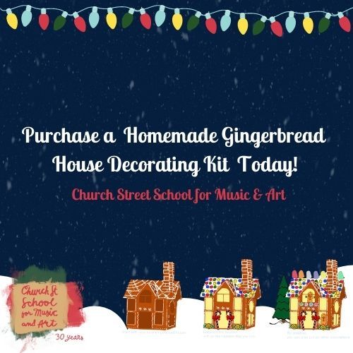Church Street School Gingerbread House Workshops