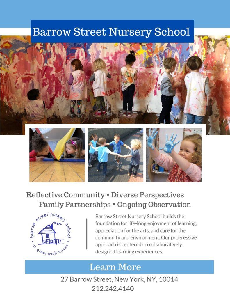 Barrow Street Nursery School - Learn More!
