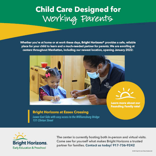 Bright Horizons Offers Child Care for Working Families