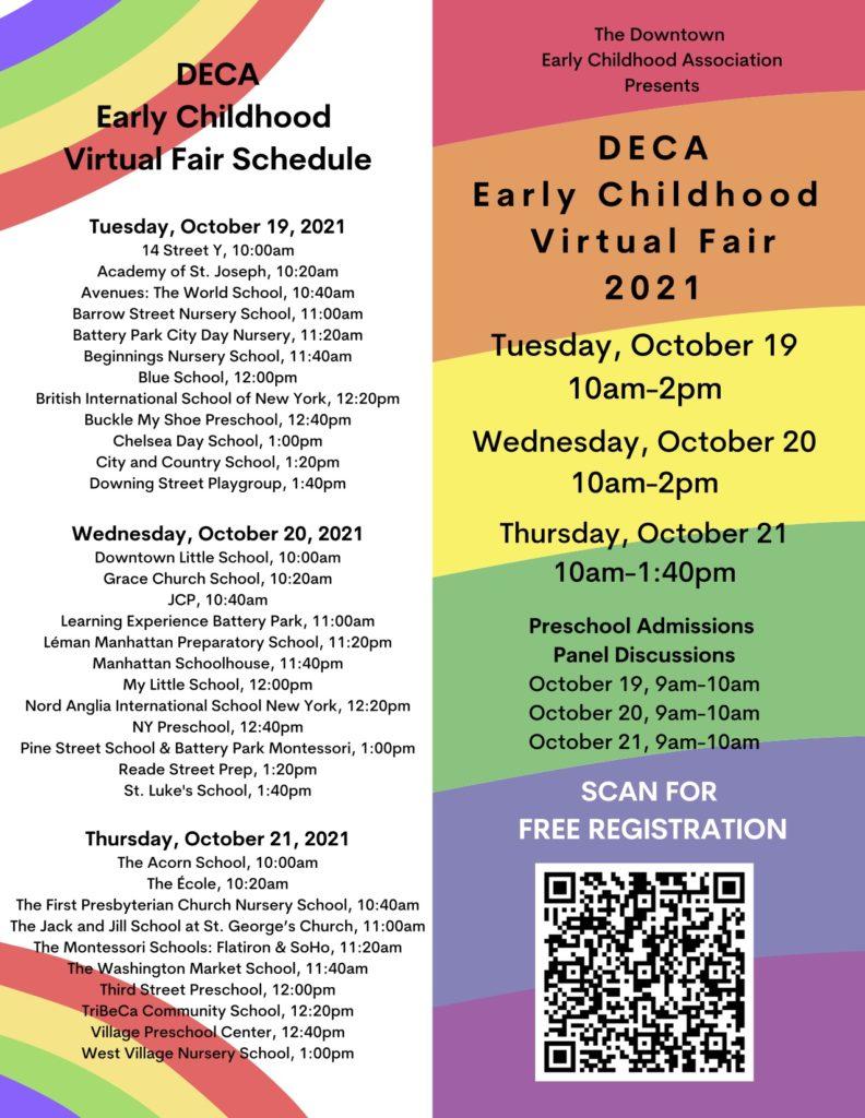 Early Childhood Virtual Fair 2021