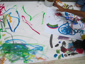 Preschool Art at Rockefeller Park for Toddlers and its FREE!
